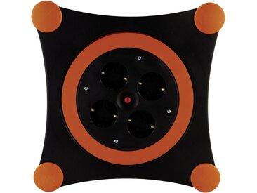 REV Kabeltrommel »Kabelbox X-Tra 12,5 m«, schwarz, black