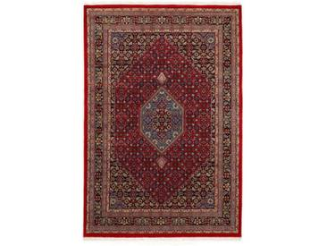OCI DIE TEPPICHMARKE Wollteppich »Himla Bidjar«, rechteckig, Höhe 20 mm, handgeknüpft, rot, 20 mm, rot-blau