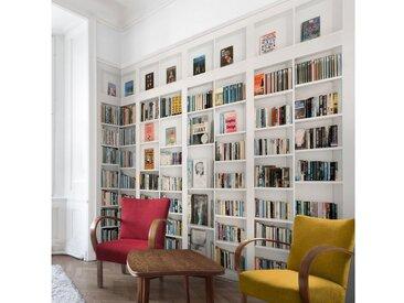 Bilderwelten Vliestapete - My Private Library - Fototapete Breit »My Private Library«, bunt, 320x480 cm, Farbig