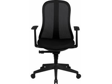 Amstyle Bürostuhl »Style«, schwarz, schwarz