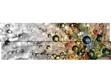 Artland Wandgarderobe »agika7: Farbenfrohe Natur«, 30 x 90 x 2,8 cm, Farbig
