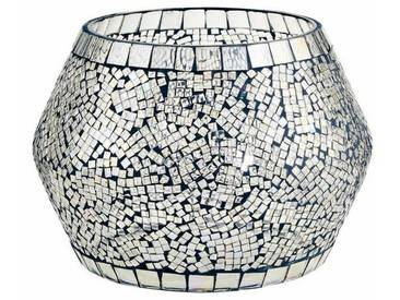 BUTLERS PALACIO »Mosaik Windlicht 10 cm«, Ø 14 cm, Höhe 10 cm
