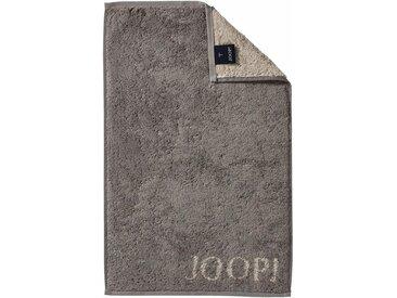 Joop! Gästehandtücher »Doubleface«, in extraflauschiger Walkfrottier-Qualität, grau, Walkfrottee, graphit