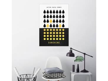 Posterlounge Wandbild - Elisabeth Fredriksson »After rain comes sunshine«, bunt, Poster, 70 x 100 cm, bunt