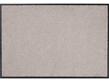 HANSE Home Fußmatte »Wash & Clean«, rechteckig, Höhe 7 mm, waschbar, braun, 7 mm, taupe