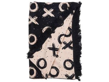 BUTLERS MACIO »Flanell-Decke XOXO 150x200 cm«, Länge 200 x Breite 150 cm