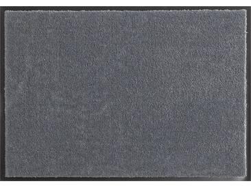 HANSE Home Fußmatte »Deko Soft«, rechteckig, Höhe 7 mm, saugfähig, waschbar, grau, 7 mm, grau