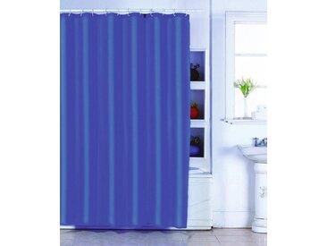 MSV Duschvorhang »Schokolade«, Breite 180 cm, blau, dunkelblau