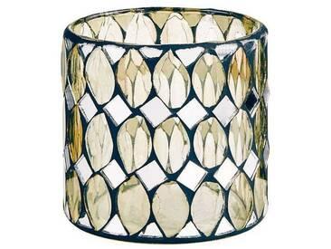 BUTLERS PALACIO »Mosaik Windlicht Rauten 7,5 cm«, Ø 7,5 cm, Höhe 7,5 cm
