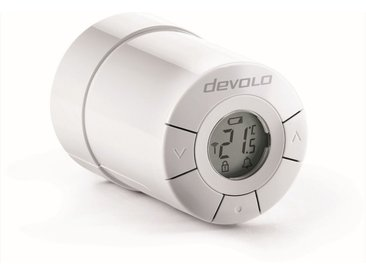 DEVOLO Smart Home Z-Wave »Home Control Heizkörperthermostat,ZWave,sehr leise«, weiß, weiß
