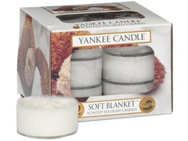 Yankee Candle Duftkerze »Soft Blanket 12er Pack Teelichter«
