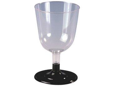 PAPSTAR Einweg-Rotweinglas »Invitation«, weiß, transparent