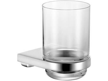 Keuco KEUCO Glashalter »Collection Moll«, mit Echtkristall-Glas klar, verchromt, silberfarben, chrom