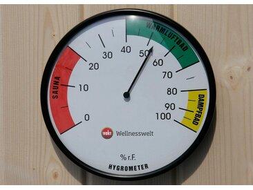 weka WEKA Sauna-Hygrometer, weiß, weiß