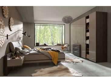 nolte® Möbel Schlafzimmer-Set »concept me 100«, grau, Liegefläche 180x200, grau
