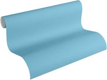 Esprit Papiertapete, »fein strukturierte Kids Tapete Space«, blau, türkisblau