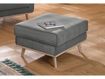 Home affaire Hocker »Fjord« Keder, im skandinavischem Design, grau, hellgrau