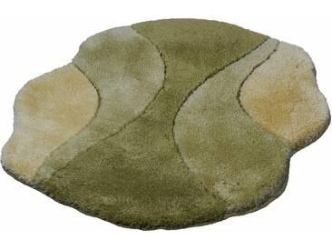 Kleine Wolke Badematte »Excelsior« , Höhe 25 mm, rutschhemmend beschichtet, fußbodenheizungsgeeignet, grün, 25 mm, klee
