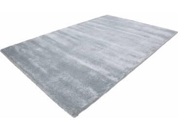 LALEE Teppich »Softtouch 700«, rechteckig, Höhe 22 mm, blau, 22 mm, pastellblau