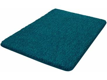 Kleine Wolke Badematte »Seattle« , Höhe 25 mm, rutschhemmend beschichtet, fußbodenheizungsgeeignet, blau, 25 mm, pazifik