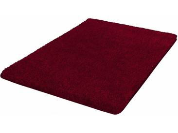 Kleine Wolke Badematte »Seattle« , Höhe 25 mm, rutschhemmend beschichtet, fußbodenheizungsgeeignet, rot, 25 mm, granat
