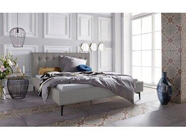 Leonique Polsterbett »Sinaloa«, in fünf Farben und vier Größen erhältlich, grau, grau