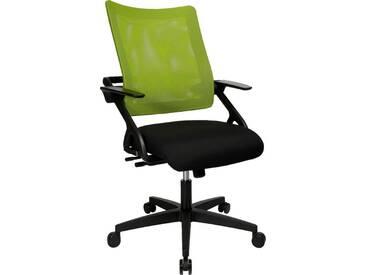 TOPSTAR Bürostuhl »New Smove«, schwarz, schwarz/grün