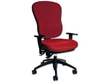 TOPSTAR Bürostuhl ohne Armlehnen »Wellpoint 30 SY«, rot, rot
