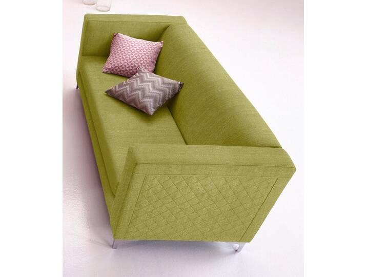 INOSIGN 3-Sitzer mit Steppung, grün, limette Grün