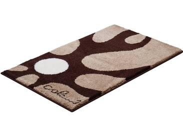 Colani Badematte » 12« , Höhe 24 mm, rutschhemmend beschichtet, fußbodenheizungsgeeignet, braun, 24 mm, braun