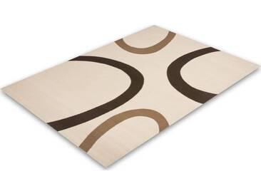 LALEE Teppich »Contempo 659«, rechteckig, Höhe 10 mm, natur, 10 mm, elfenbeinfarben