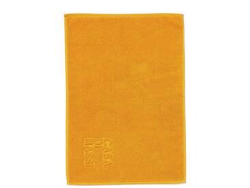 Casa di Bassi Badematte »mit Marken-Logo« , Höhe 5 mm, gelb, 5 mm, gelb