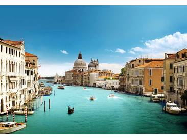 Idealdecor Fototapete »Canal Grande Venice«, 8-teilig, 366x254 cm, bunt, bunt