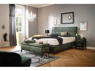 ADA premium Boxspringbett »Smart Elegance« Grand Comfort TF 1000 PM, grün, 7-Zonen-Tonnentaschen-Federkernmatratze H2, grün FOG 3