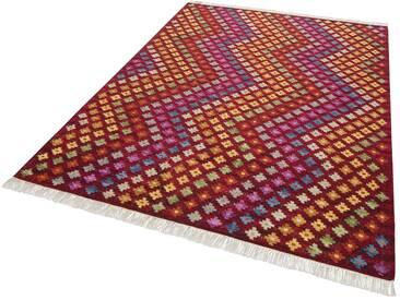 Theko Exklusiv Teppich »Lukan«, rechteckig, Höhe 8 mm, rot, 8 mm, rot