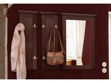 Home affaire Garderobenpaneel »Alva«, mit Spiegel, in 3 verschiedenen Farben, braun, koloniafarben