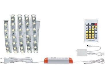 Paulmann LED-Streifen »MaxLED Tunable White dimmbar Basisset beschichtet 1,5m 10W mit Weißlichtsteuerung«, silberfarben, silberfarben