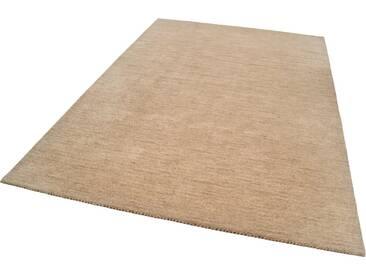 THEKO Teppich »Haltu Uni«, rechteckig, Höhe 17 mm, natur, 17 mm, beige