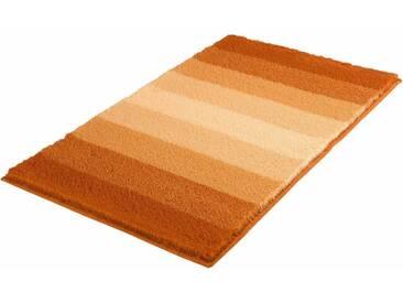 MEUSCH Badematte »Palace« , Höhe 23 mm, rutschhemmend beschichtet, fußbodenheizungsgeeignet, orange, 23 mm, brandy