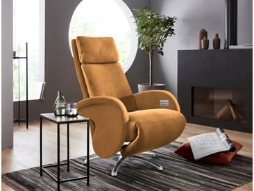 W.SCHILLIG Relaxsessel »jupiter« mit Sternfuß, braun, brandy S37