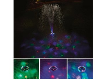 Bestway BESTWAY Poolbeleuchtung LED mit Wasserfontäne, 18,5 cm, weiß, 18,5 cm, weiß