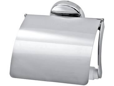 FACKELMANN Toilettenpapierhalter »Vision«, verchromt, silberfarben, silberfarben