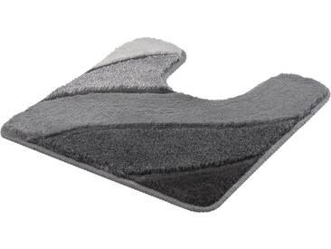 Kleine Wolke Badematte »Serenade« , Höhe 20 mm, rutschhemmend beschichtet, fußbodenheizungsgeeignet, grau, 20 mm, anthrazit