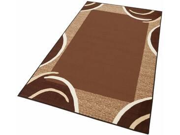 THEKO Teppich »Loures«, rechteckig, Höhe 6 mm, braun, 6 mm, dunkelbraun