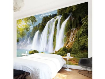 Bilderwelten Vliestapete Breit »Amazon Waters«, bunt, 225x336 cm, Farbig