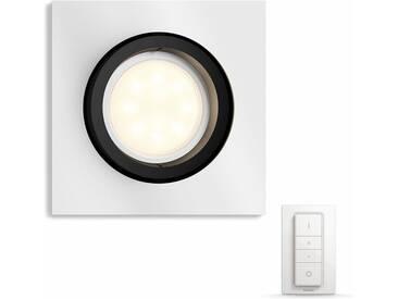 Philips Hue LED Einbaustrahler »Milliskin«, 1-flammig, Smart Home, silberfarben, 1 -flg. /, silberfarben