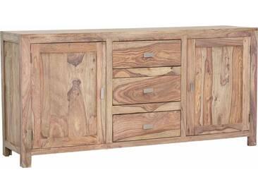 Gutmann Factory Sideboard »Inka« aus massivem Sheesham Holz, Breite 175 cm, braun, braun
