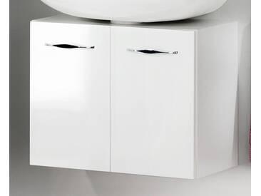 FACKELMANN Waschbeckenunterschrank »Sceno«, Breite 60 cm, weiß, weiß