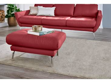 W.SCHILLIG Hocker »softy«, mit Heftung im Sitz, rot, ruby red