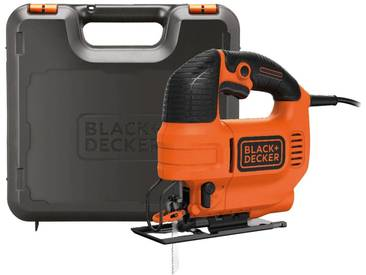 Black + Decker BLACK + DECKER Pendelhubstichsäge »KS701PEK«, orange, orange
